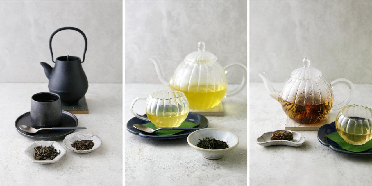 和紅茶・緑茶檸檬・カーネーション仙桃